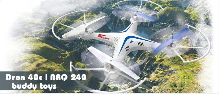 Kvadrokoptéra BUDDY TOYS Dron 40c