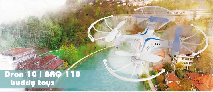 Kvadrokoptéra BUDDY TOYS Dron 10