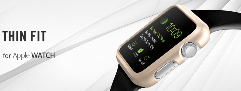 Ochranný kryt Spigen Thin Fit pro Apple Watch 42 mm
