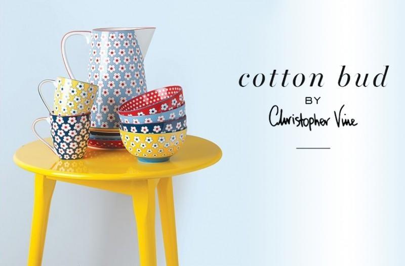 Kolekce jídelního nádobí Maxwell & Williams Cotton Bud by Christopher Vine