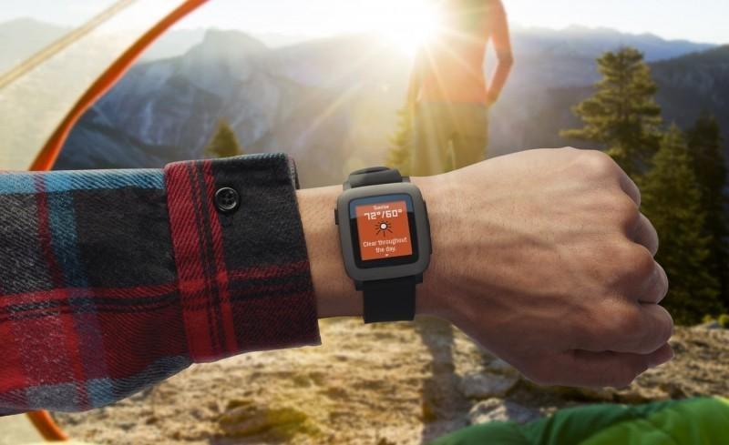 Chytré hodinky Pebble Time Smartwatch