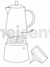 Cilio hliníkový vařič pressa Classico Induction na 6 šálků navod 1