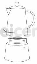 Cilio hliníkový vařič pressa Classico Induction na 6 šálků navod 4