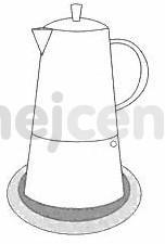 Cilio hliníkový vařič pressa Classico Induction na 6 šálků navod 5