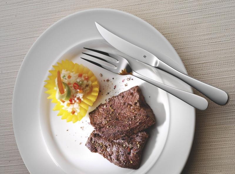 Sada steakových příborů v dřevěném boxu WMF