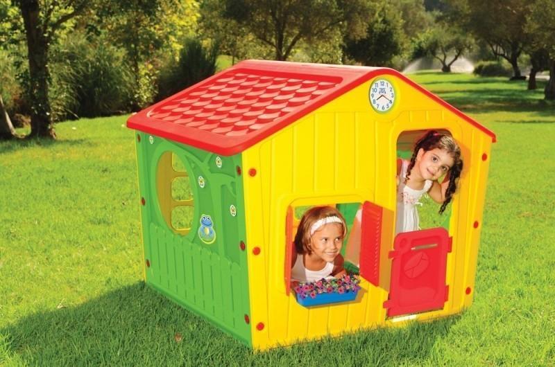Zahradní domeček Buddy Toys Village, cervený