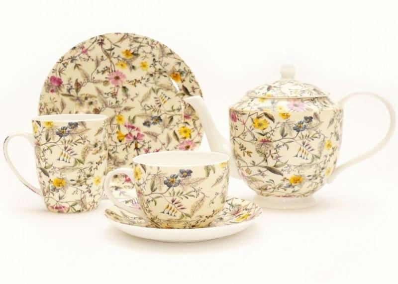 Nádobí z kolekce William Kilburn Summer Blossom