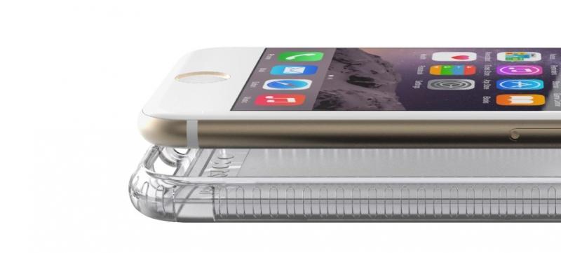 Zadní ochranný kryt Tech21 Impact Clear pro Apple iPhone 6 Plus/6S Plus