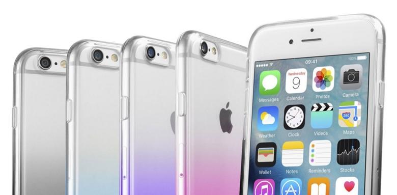Poloprůhledný zadní kryt CellularLine SHADOW pro Apple iPhone 6/6S