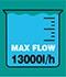 Kalové čerpadlo Fieldmann FVC 5010-EK s maximálním průtokem 13000 litrů/h