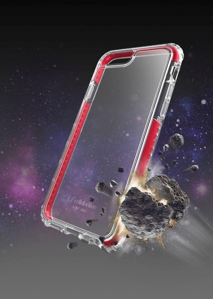Nárazuvzdorný zadní kryt CellularLine Tetra Force Shock-Tech pro Apple iPhone 6/6S