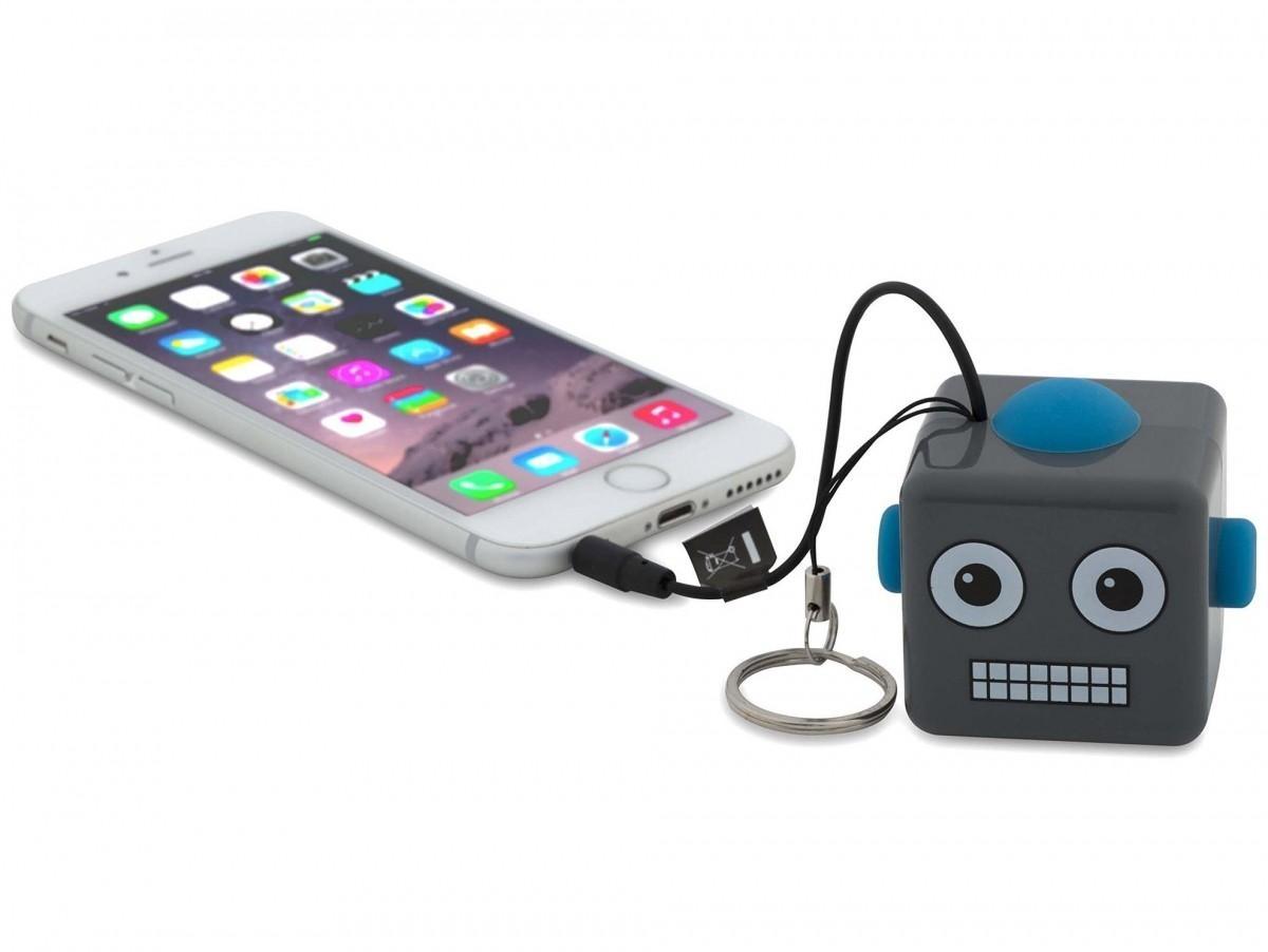 Přenosný reproduktor KitSound Mini Buddy Robot s dětským motivem robota