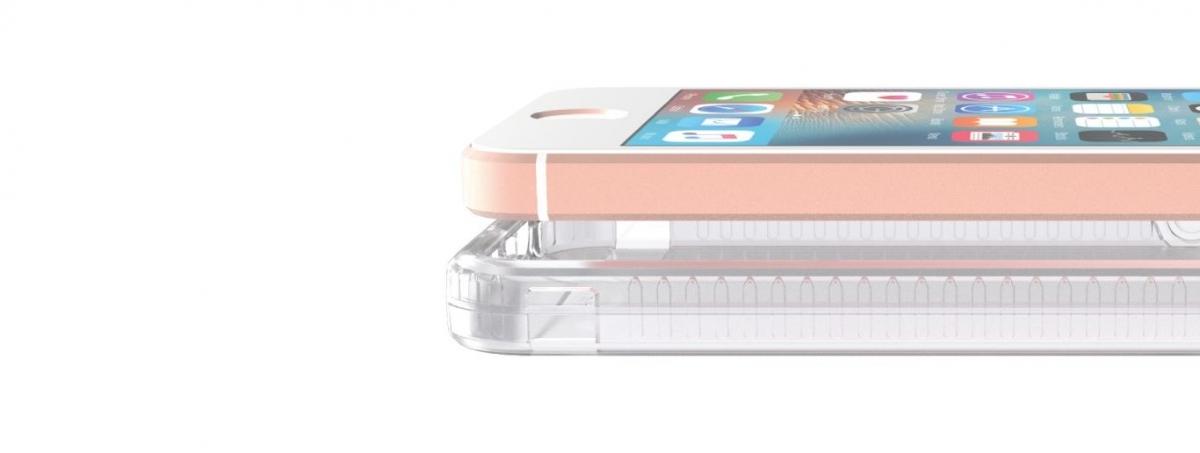 Zadní ochranný kryt Tech21 Impact Clear pro Apple iPhone 5/5S/SE