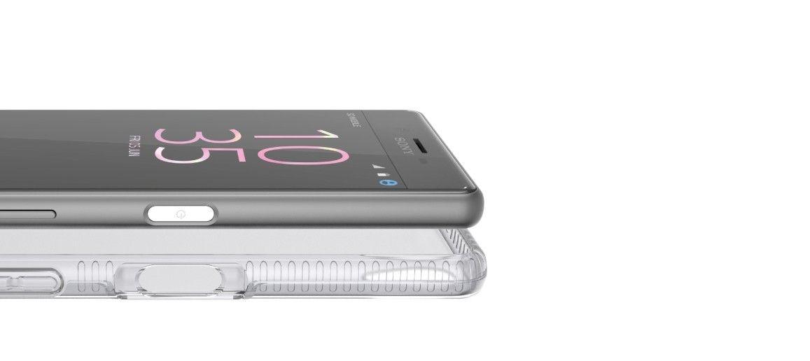 Zadní ochranný kryt Tech21 Impact Clear pro Sony Xperia X