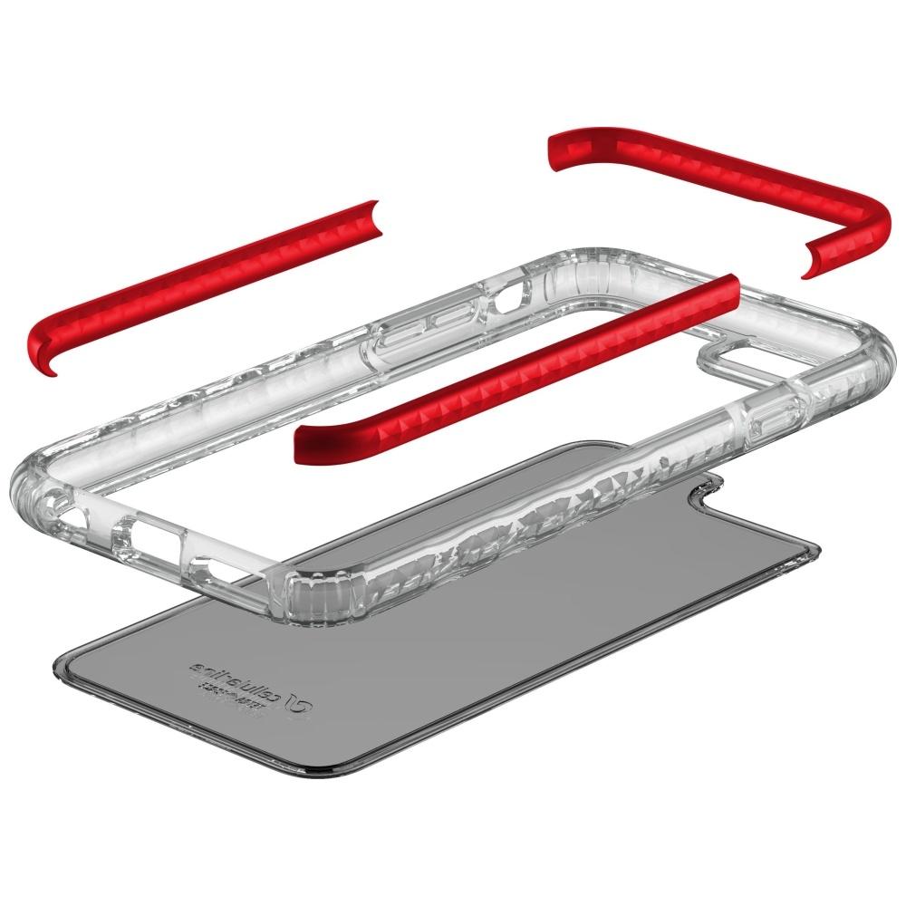 Nározuvzdorný zadní kryt (obal) CellularLine Tetra Force Shock-Tech ze 3 vrstev materiálu pro odolnost vůči pádům ze 4 metrů