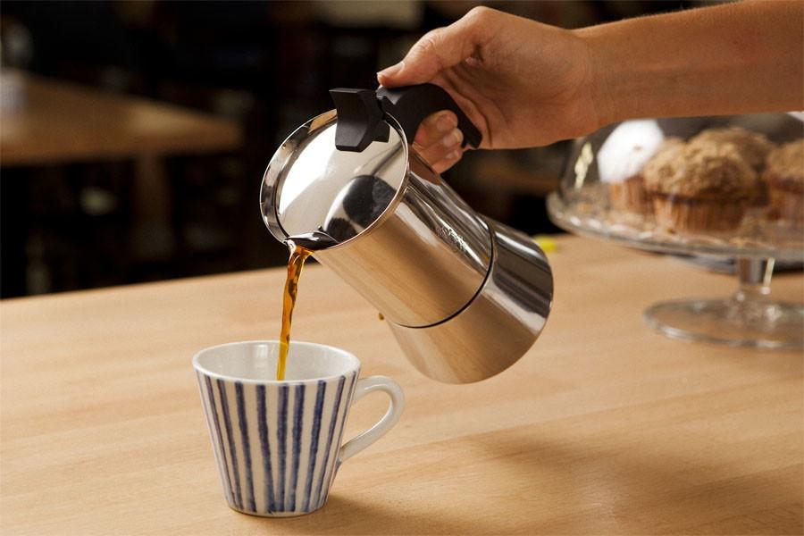 Nerezový kávovar (Espresso) Bialetti Venus, 6 šálků