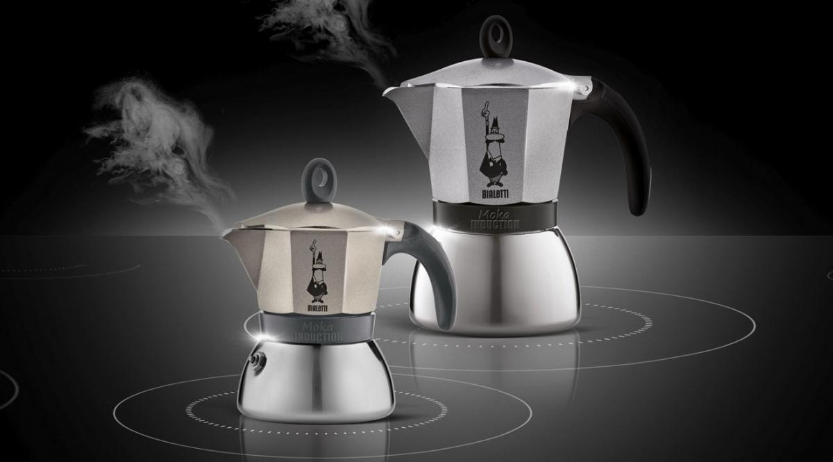Hliníkový kávovar (Espresso) Bialetti Moka Induction, 6 šálků
