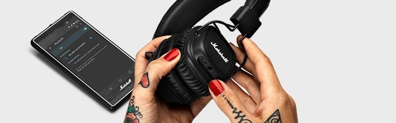 Bezdrátové sluchátka Major II Bluetooth