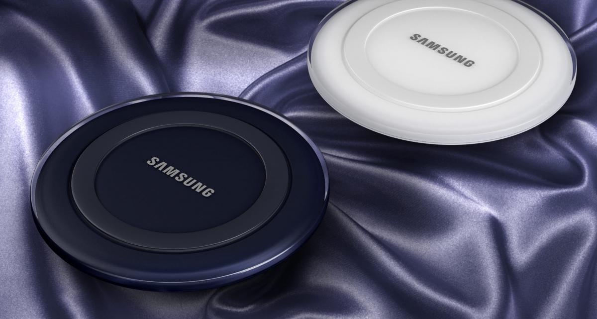 Bezdrátová nabíjecí podložka Samsung EP-PG920IBE s jedinečným designem