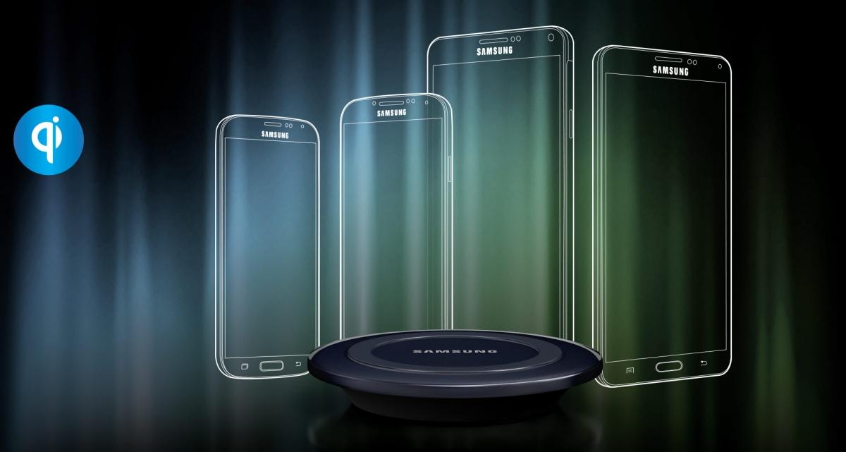 Bezdrátová nabíjecí podložka Samsung EP-PG920IBE pro zařízení s WPC nabíjením