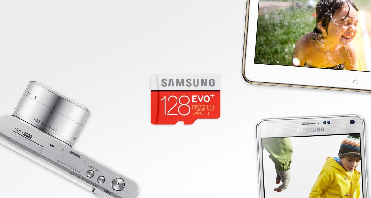 MicroSDXC Samsung EVO Plus pro každé chytré zařízení