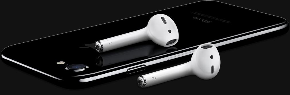 Bezdrátová sluchátka AirPods pro Apple iPhone 7