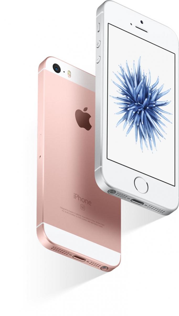 Mobilní telefon Apple iPhone SE s designem, který si zamilujete