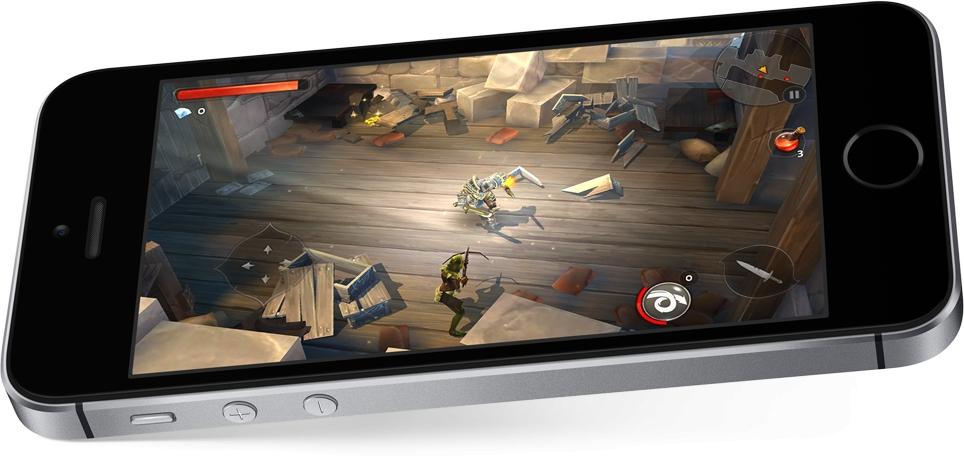 Mobilní telefon Apple iPhone SE s vysokým výkonem