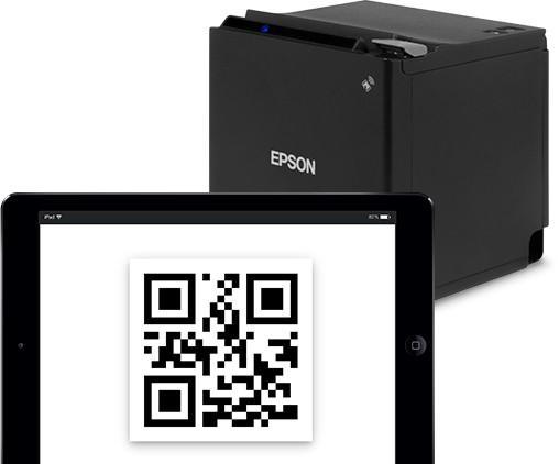 Termo tiskárna účtenek Epson TM-M30 s rozsáhlou možností připojení