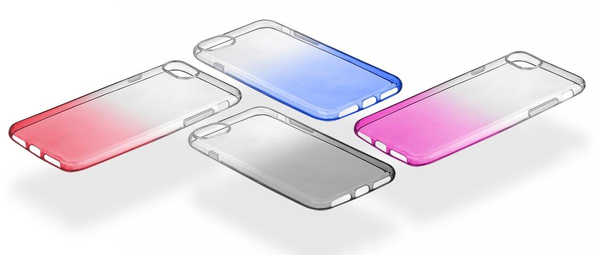 Poloprůhledný zadní kryt CellularLine SHADOW pro Apple iPhone 7