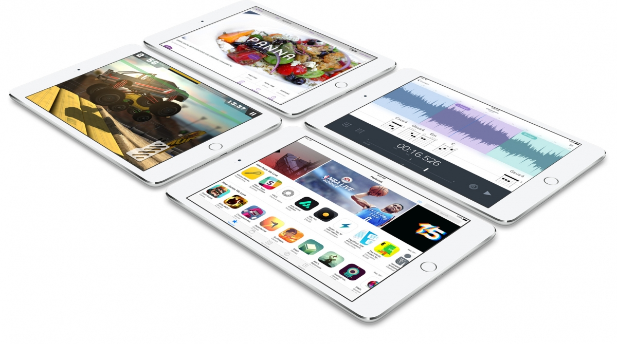 Tablet Apple iPad Mini 4 s aplikacemi