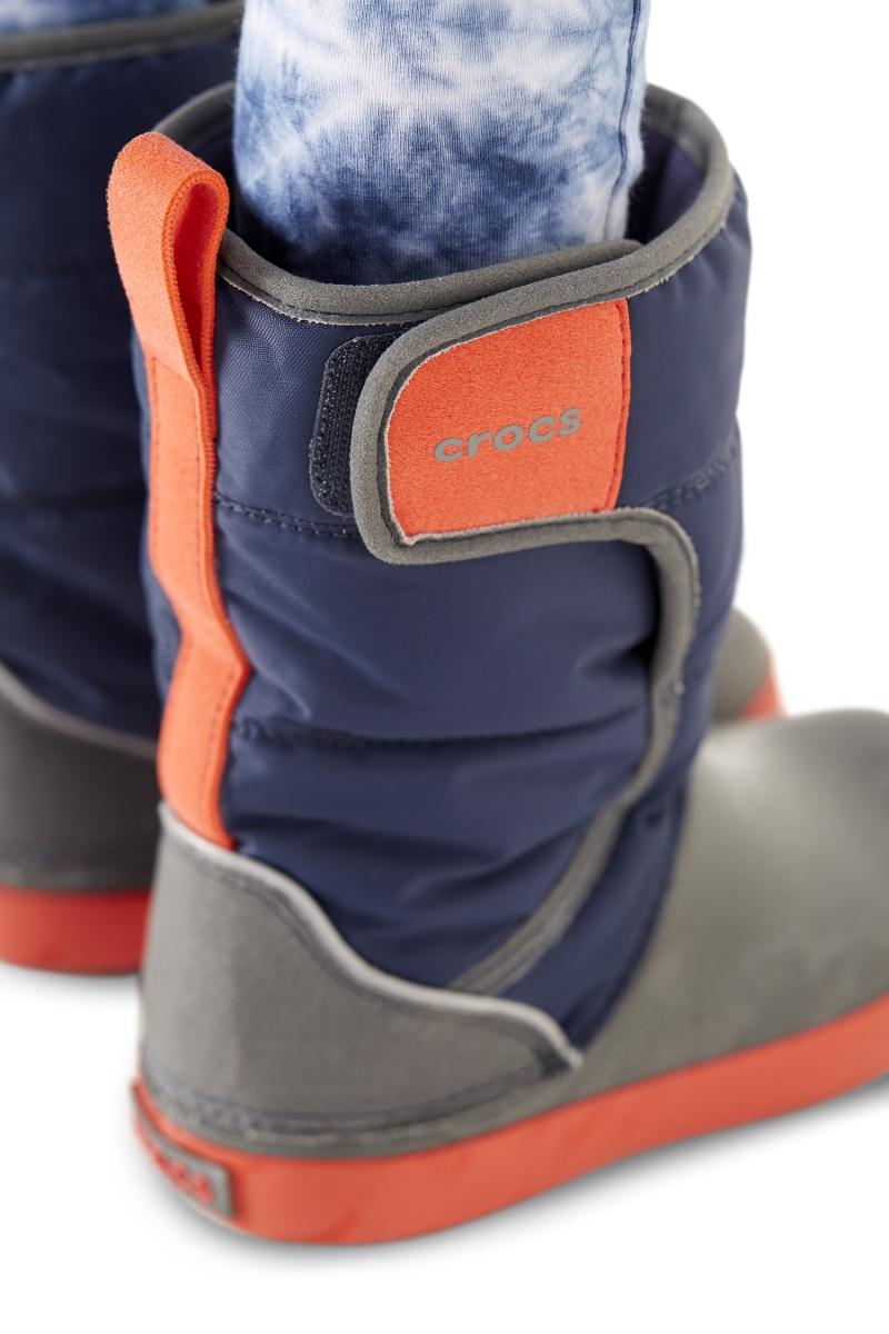 Dětské sněhule Crocs LodgePoint Snow Boot Kids s maximálním pohodlím i  bezpečím b7b89ab461