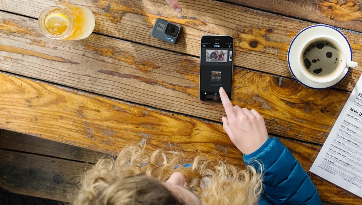 Outdoorová kamera GoPro HERO6 Black Edition s bezplatnou mobilní aplikací