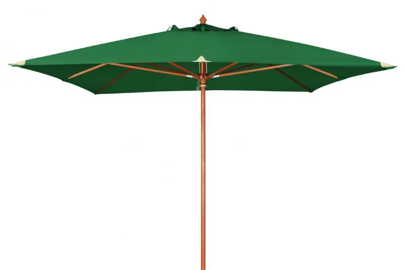 Zahradní slunečník Doppler MONTE CARLO 3x3 - Tmavě zelená