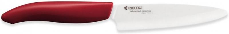 Keramický nůž Kyocera FK-110WH-RD 11 cm, Červená