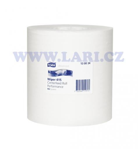 Papírové ručníky v roli TORK ADVANCED 415 bílá TAD M2
