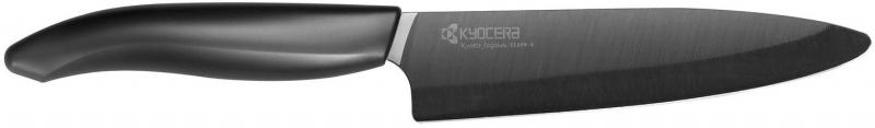 Keramický nůž Kyocera FK-130BK 13 cm, Černá