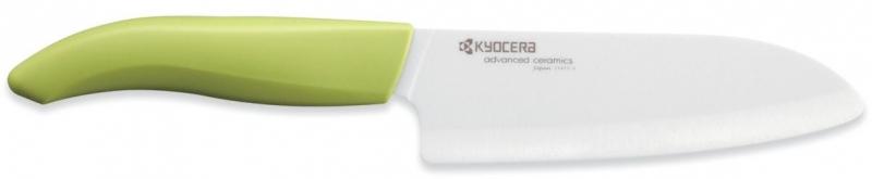 Keramický nůž Kyocera FK-140WH-GR 14 cm, - Zelená