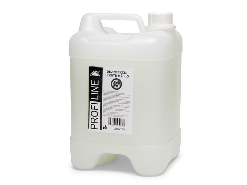 Tekuté mýdlo PROFILINE dezinfekční s přísadou triclosanu 5l