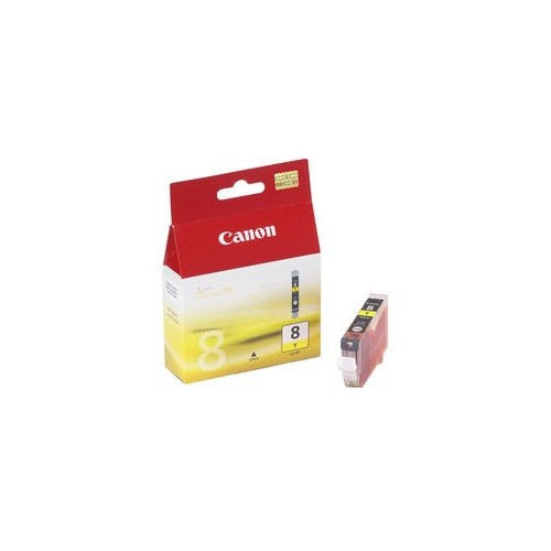 Žlutá inkoustová kazeta Canon CLI-8Y (iP3x00/4x00) - Originální 0623B001