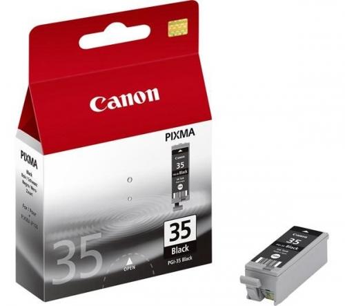 Černá inkoustová kazeta Canon PGI-35BK - Originální 1509B001