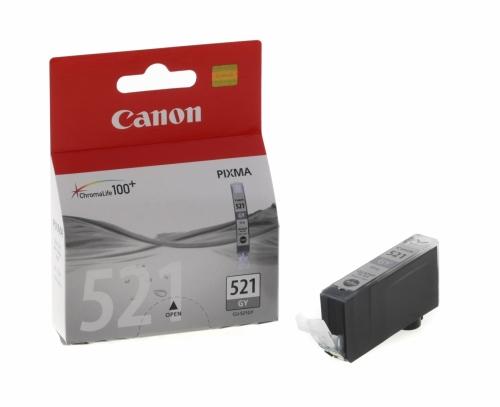 Černá inkoustová kazeta Canon CLI-521 BK (MP540, IP3600) - Originální 2933B001