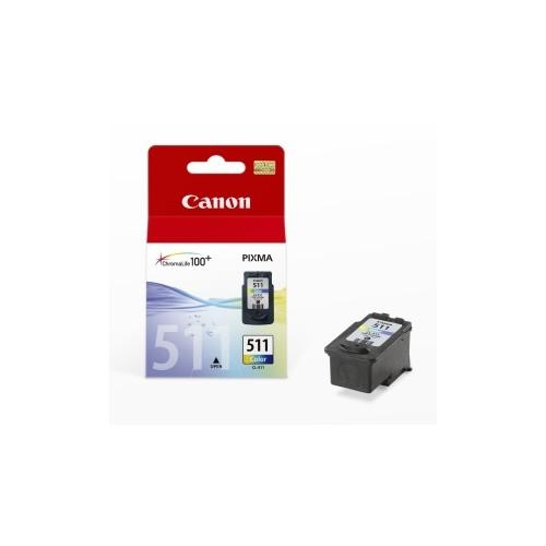 Tříbarevná inkoustová kazeta Canon CL-511 Color - Originální 2972B001