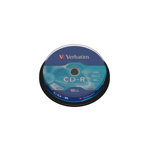 Média CD-R Verbatim 700MB/80min, 52x, Spindl, 10ks 43437