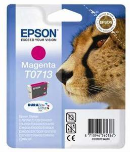 Purpurová inkoustová kazeta Epson pro D92,D120 (T0713) - Originální C13T07134010