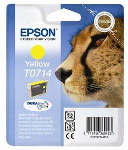 Žlutá inkoustová kazeta Epson pro D78,D92 (T0714) - Originální C13T07144010