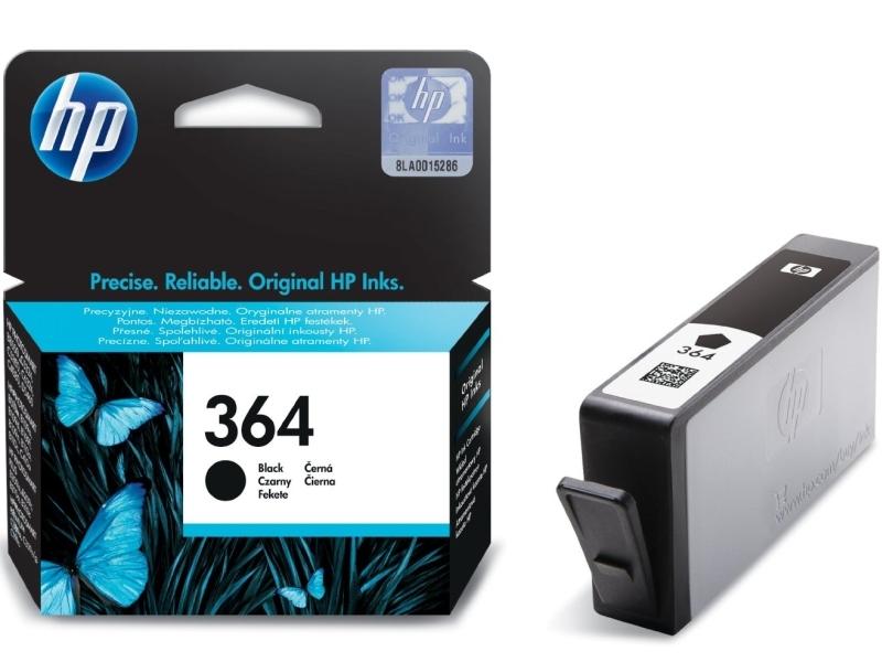 Černá inkoustová kazeta HP 364 (HP364, HP-364, CB316EE) - Originální CB316EE