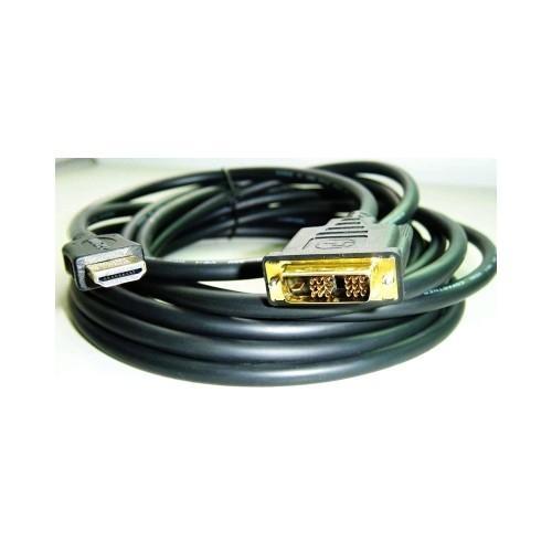 Kabel HDMI-DVI 2m, M/M stíněný, zlacené kontakty CC-HDMI-DVI-6