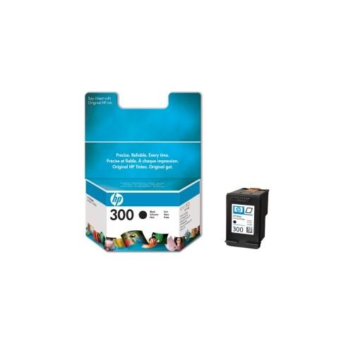 Černá inkoustová kazeta HP 300 (HP300, HP-300, CC640EE) - Originální CC640EE