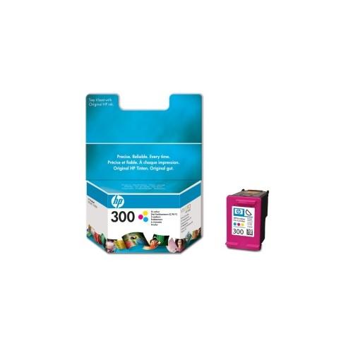Tříbarevná inkoustová kazeta HP 300 (HP300, HP-300, CC643EE) - Originální CC643EE